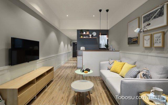 小公寓装修样板房,大空间