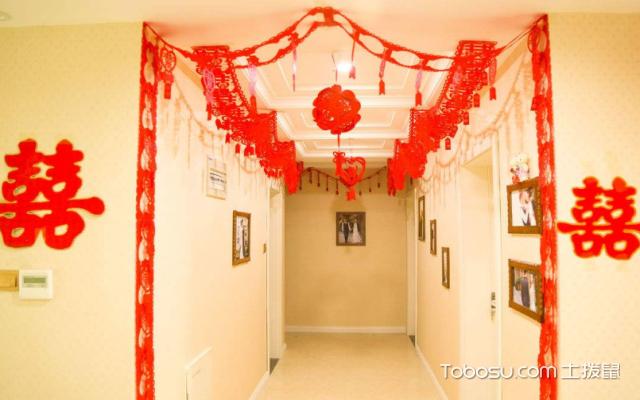 115平方米婚房装修图
