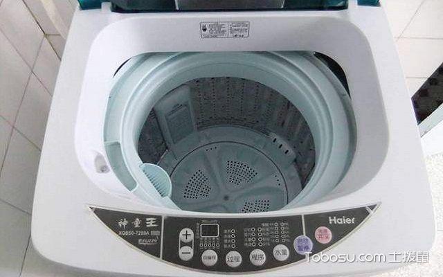 波轮洗衣机清洗要点