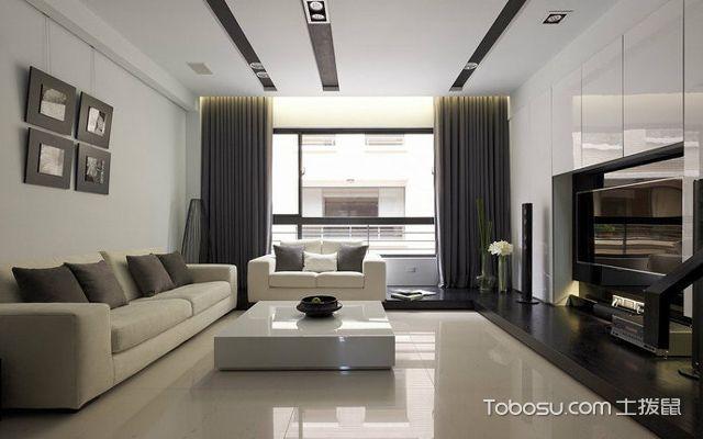 客厅吊顶图片简单大气