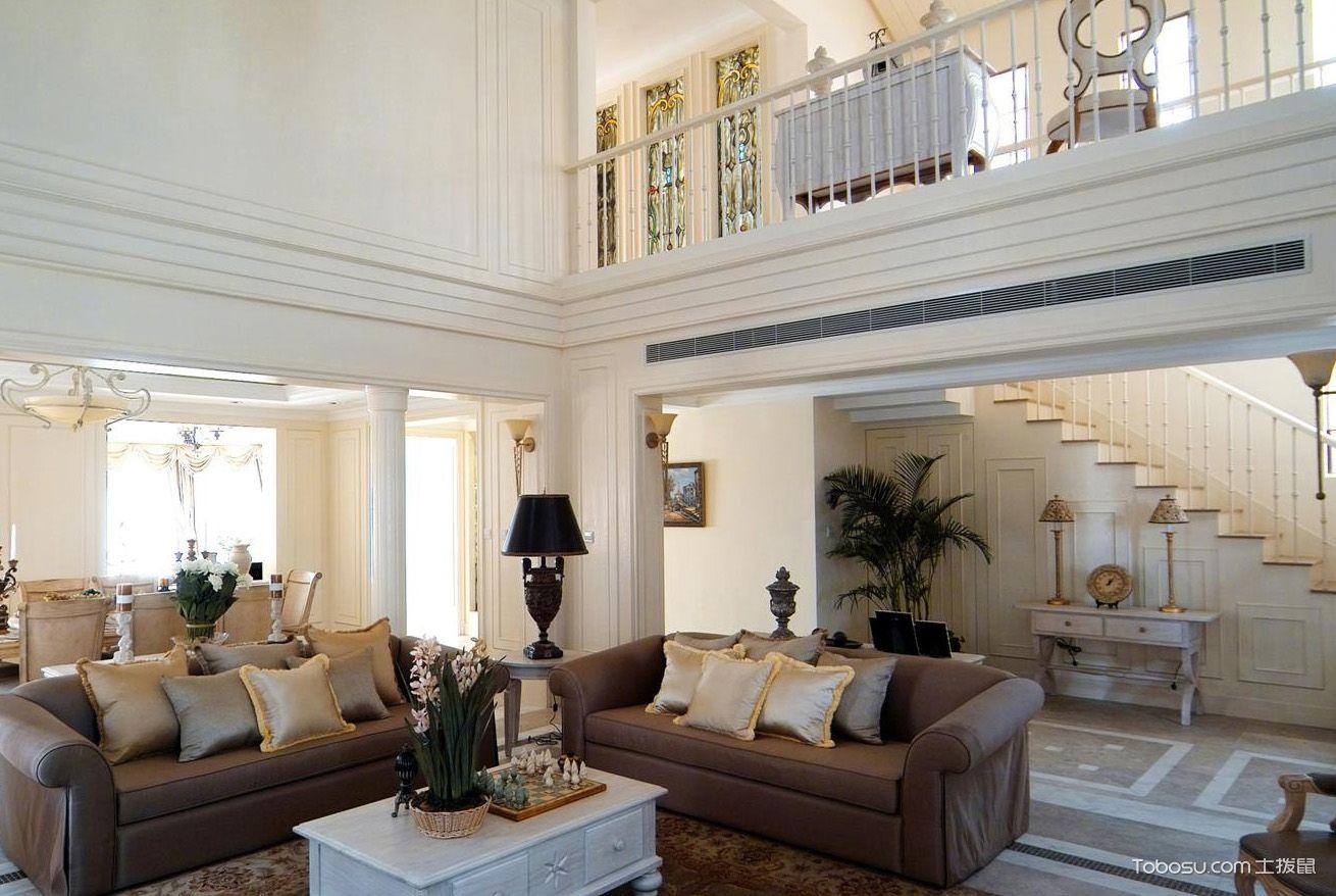 复式挑高客厅设计