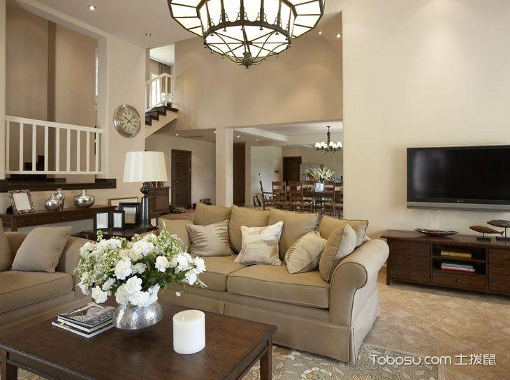 复式挑高客厅设计图