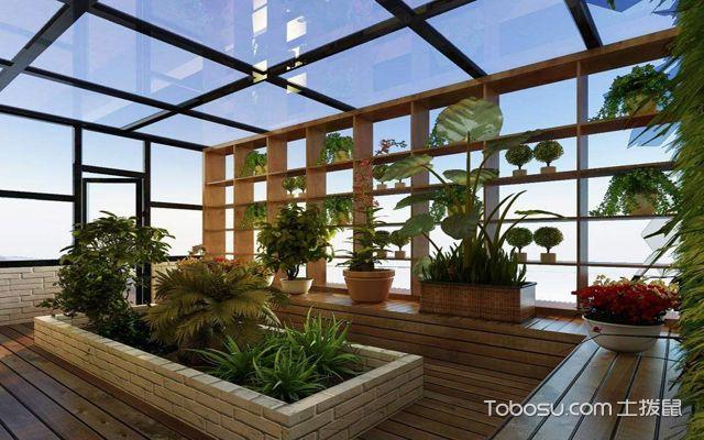 楼顶花园装修效果图 阳光房