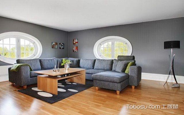 进门看见沙发之沙发摆放