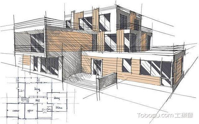 建筑设计图要点