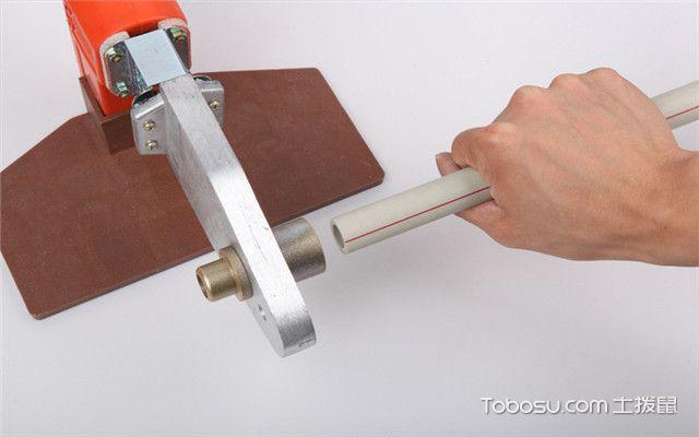 热熔机接水管技巧