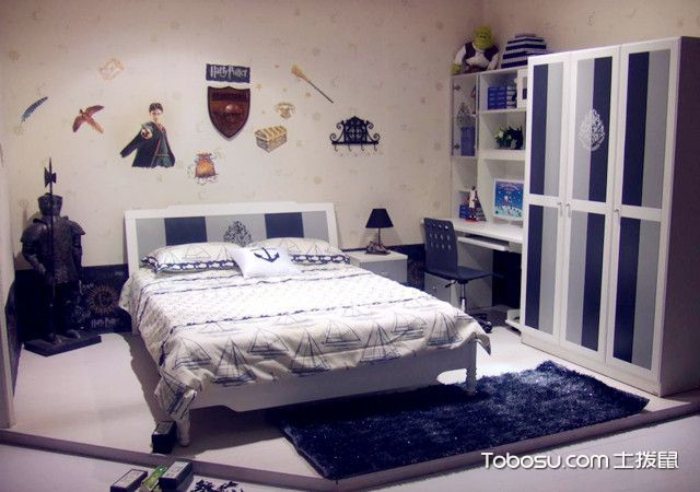 男孩房间设计图卧室图片,设计技巧