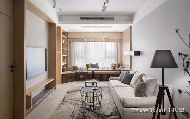 家装原木风格效果图客厅