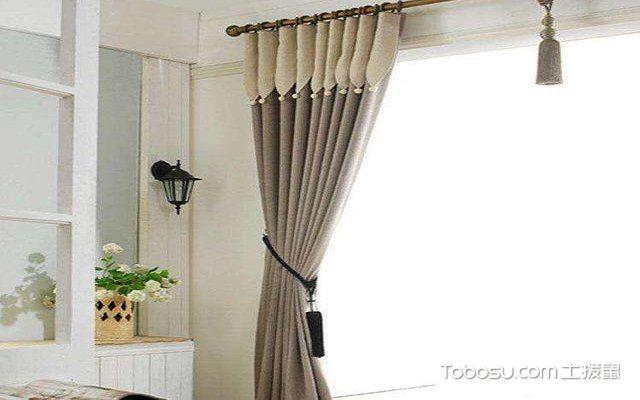 简易窗帘的挂法不打孔