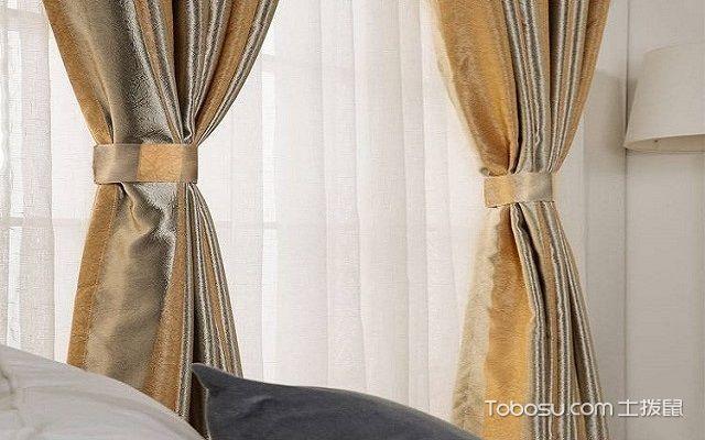 家庭简易窗帘的挂法不打孔