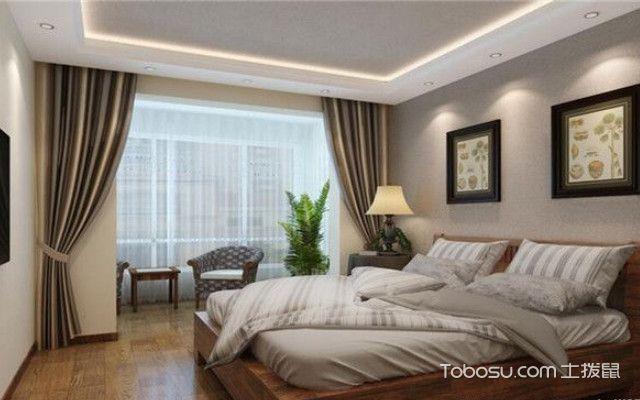 简约新中式装修之卧室图