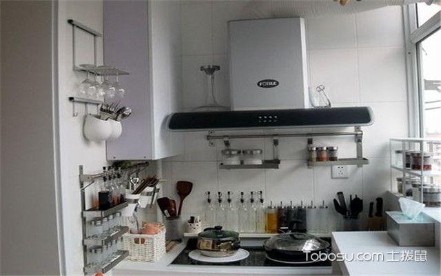 阳台改厨房效果图 实用