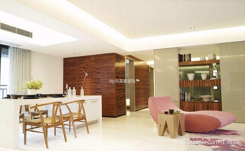 90平米两室两厅装修效果图,明亮整洁美家