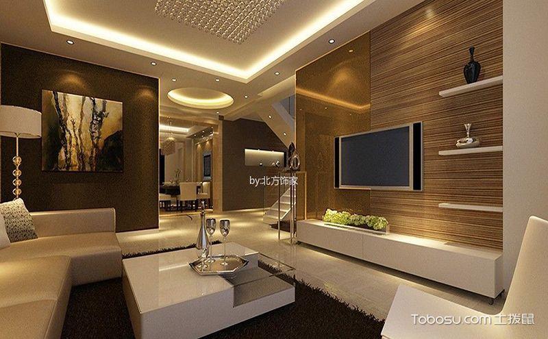 错层客厅装修效果图,别样空间营造浪漫氛围