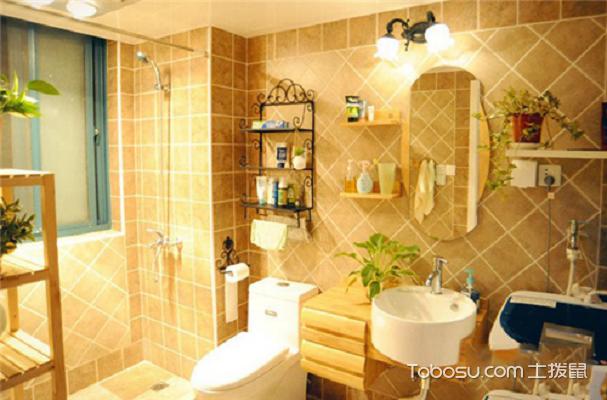 2018小户型浴室置物架效果图,实用又美观图片