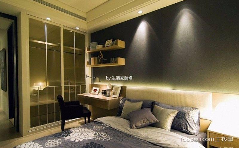 现代风格卧室装修效果图,简洁中的不凡气质