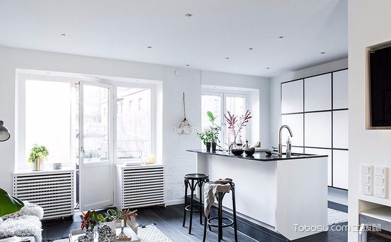 50平米一室一厅装修效果图,打造小而美简约之家