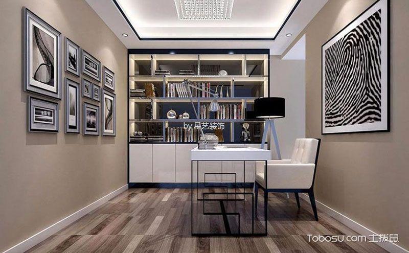 现代简约书房装修效果图,创意灵感不俗效果
