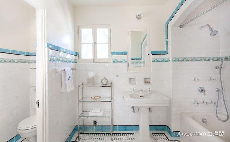浴室瓷砖装修效果图,让生活充满斑斓色彩