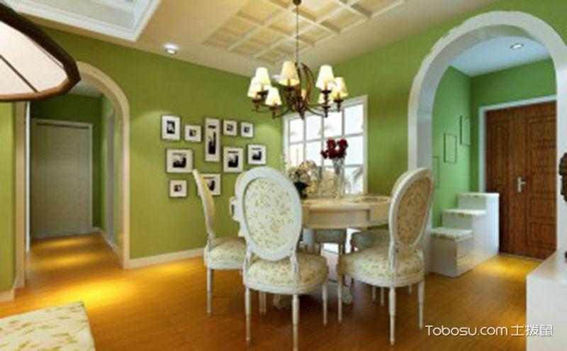 欧式田园风格餐厅装修效果图,将自然气息留在家中
