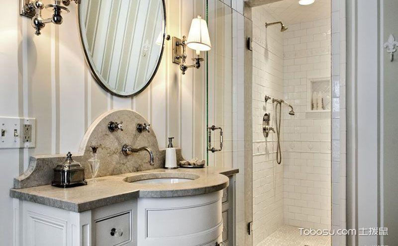 八款浴室柜效果图,实用大方也亮眼