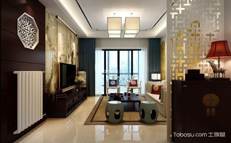 中式客厅隔断装修效果图,让人迷恋的古典风情