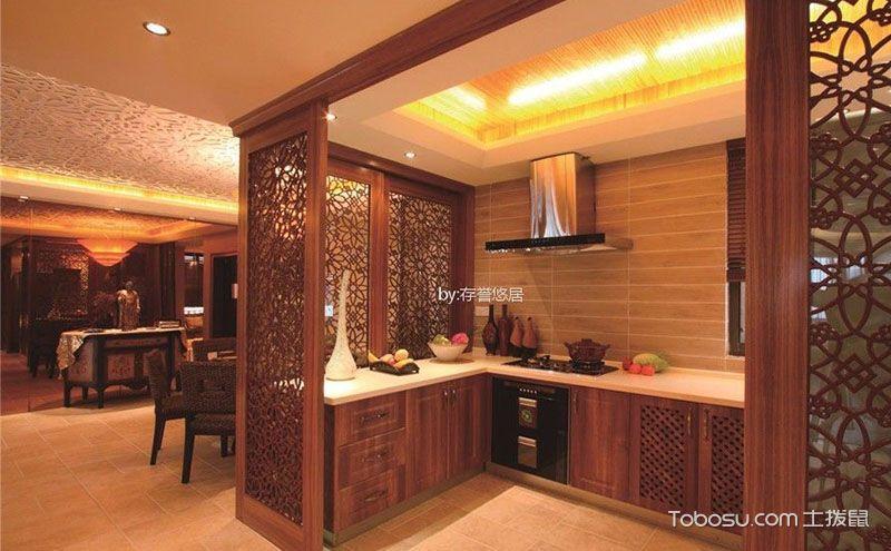 东南亚风格橱柜效果图,与自然和谐共处