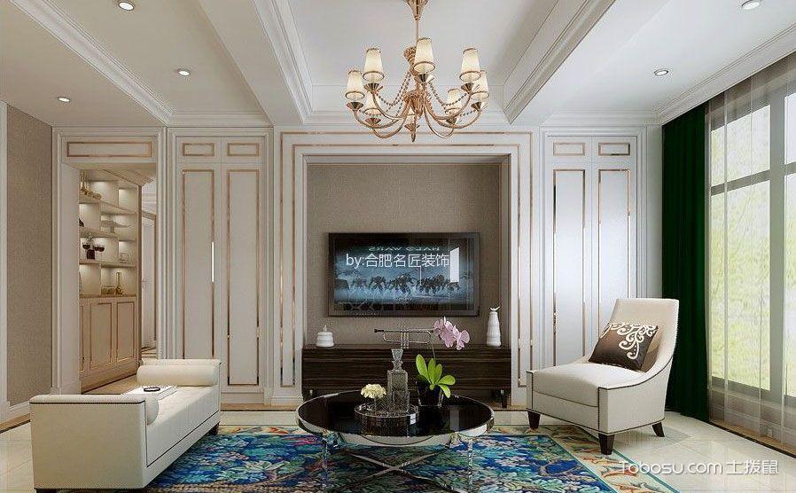 八款客厅电视背景墙,处处精彩亮点颇多