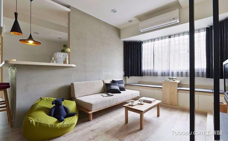 客厅阳台飘窗装修效果图,舒适惬意的角落