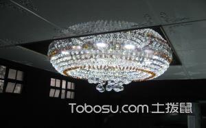 【吊顶水晶灯】吊顶水晶灯特点、价格及安装