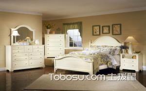 卧室英式田园风格装修图片