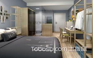 青年公寓卧室图片