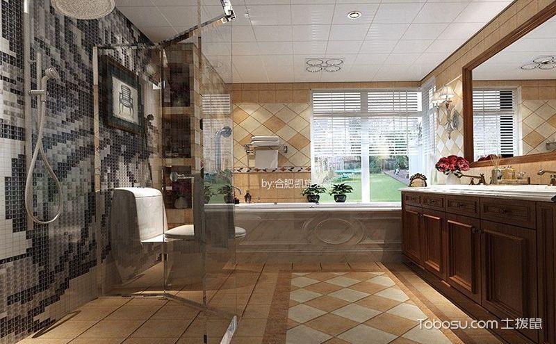 时尚淋浴房图片,不同布局同样精彩