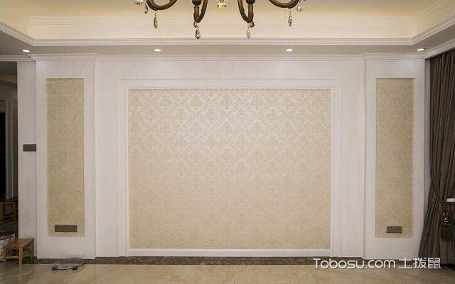 背景墙装饰材料墙布