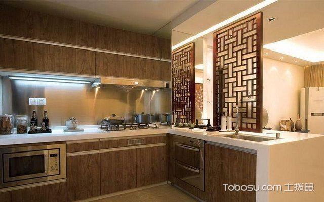 北京别墅厨房中式装修图片