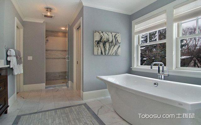 美式风格装修卫浴洁具设计