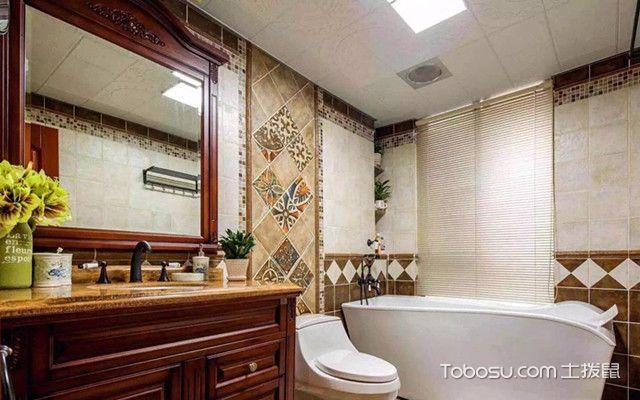美式风格装修卫浴洁具设计四