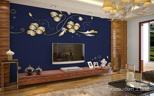 繁复欧式配景墙装潢后果图