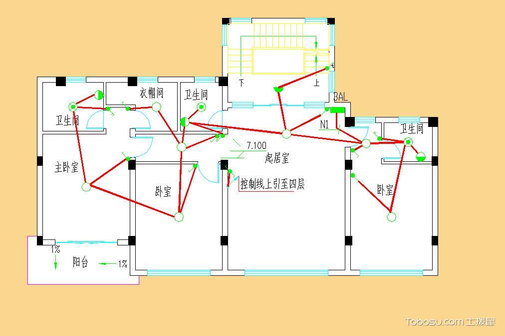 【水电施工图纸】水电施工图纸符号,水电施工图纸怎么看,示例