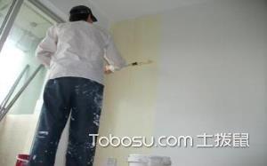 墙面装修流程_刷面漆