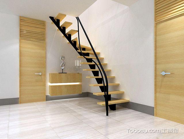 跃层楼梯装修效果图图片