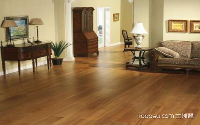 三层实木木地板效果图