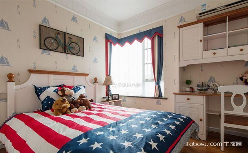 美式乡村卧室装饰效果图,现代时尚潮流的美式精品