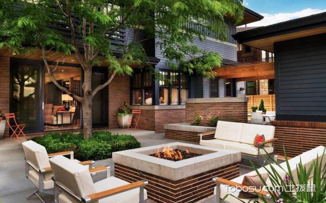 唐山别墅庭院设计