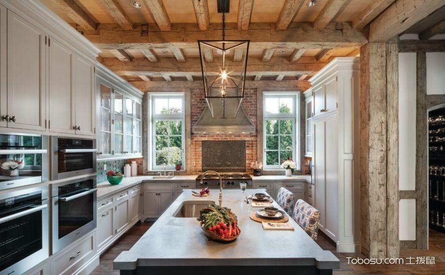 厨房吊顶设计图,满天都是小情调