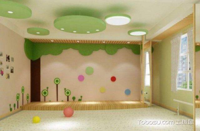 成都幼儿园装修预算的材料费用