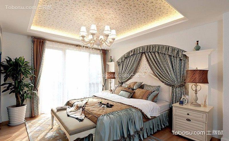 地中海风格卧室吊顶装修效果图,助你装好家
