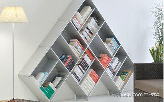 7种书柜收纳方法,改变书房装修环境