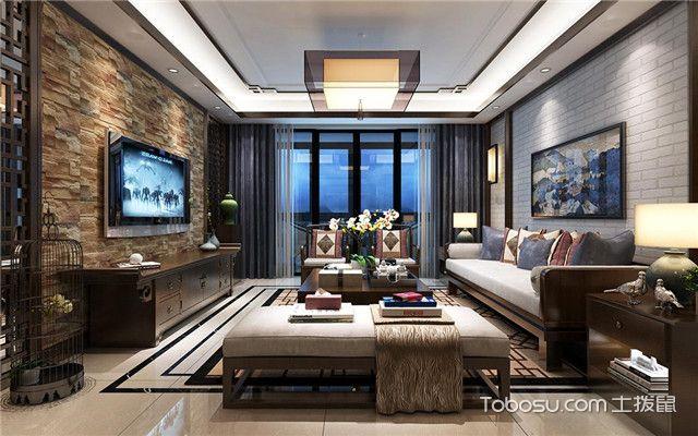 客厅装修电视背景墙
