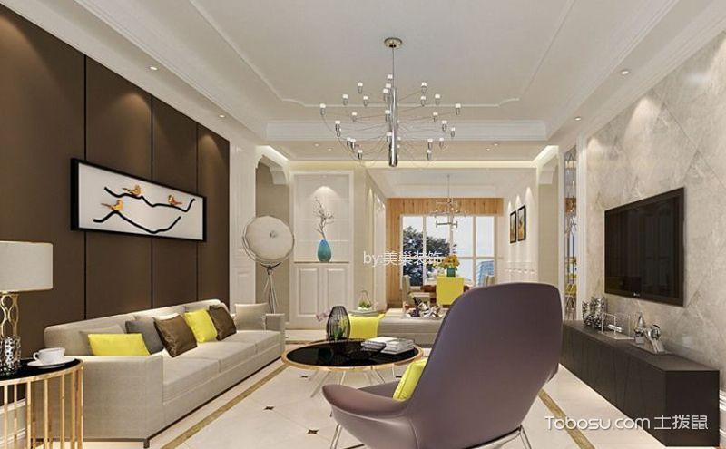 客厅吊顶装修设计效果图,打造家居美丽的风景线